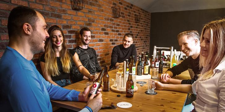 Tasting skvělých ciderů a řemeslných nealko nápojů včetně dárkového balíčku