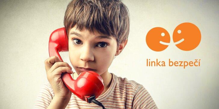 Podpořte provoz Linky bezpečí, která dětem pomáhá už 23 let