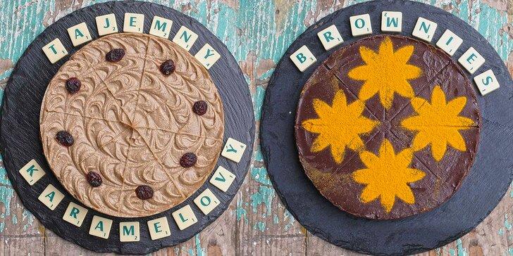 """Pochoutka nabitá energií: 3 raw dorty plné kvalitních surovin bez """"éček"""""""