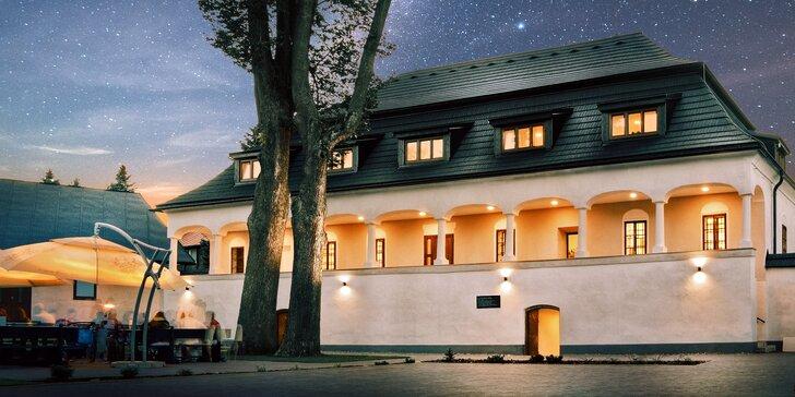 Jako v pohádce: pobyt ve šlechtickém sídle na Slovensku včetně polopenze