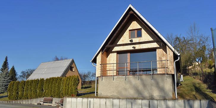 5denní pobyt ve vybavené chatě pro 2–7 osob u Žermanické přehrady