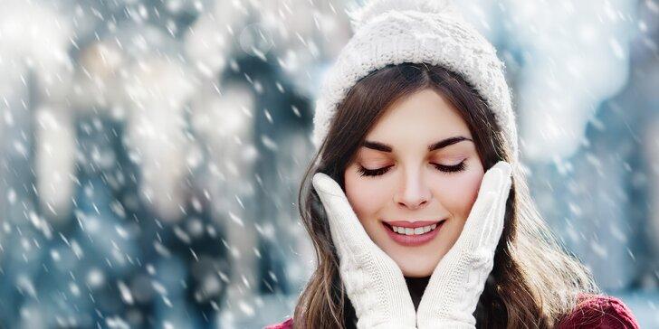 Krásná v zimních dnech: kompletní ošetření pleti včetně parafínového zábalu rukou