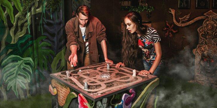 Únikovka Jumanji Jungle: Originální dobrodružství a zábava pro celou rodinu