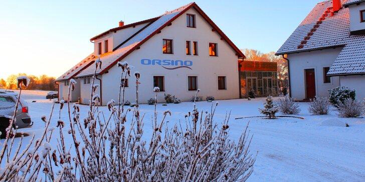 Zimní pohodový relax na Lipně: Neomezené wellness, polopenze i lyžování