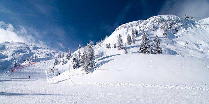 Rodinná lyžovačka v Paganelle se skipasem, ubytováním na 7 nocí i polopenzí