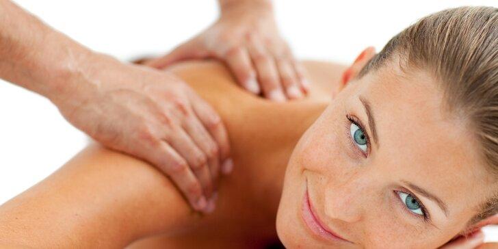 2 v 1 kombinace regenerační a Breussové masáže – délka 60 minut
