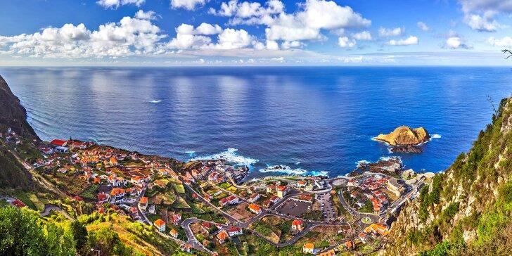 Záloha na letecký zájezd na Madeiru: 7 nocí se snídaní a program plný výletů