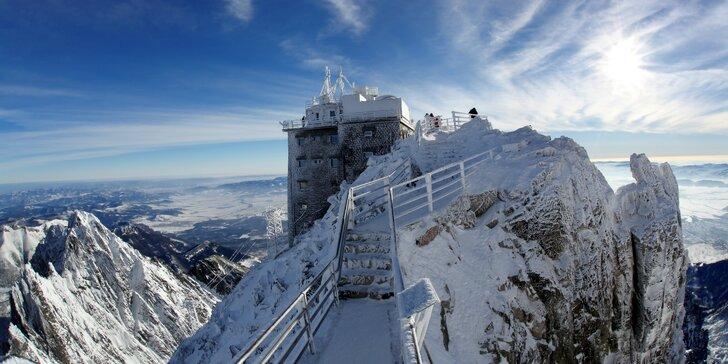 Zimní dovolená pro dva nebo rodinu v ohromujících kulisách Vysokých Tater
