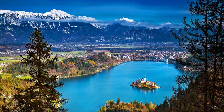 Projeďte Slovinsko od Triglavu k moři – ubytování ve 4* hotelu, snídaně a průvodce