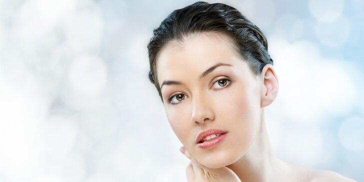 Hodinové kosmetické ošetření pro zářivou a čistou pleť