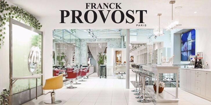 Den jako pro filmovou hvězdu v exkluzivním salonu Franck Provost