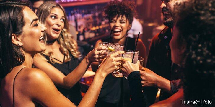 Míchaný XXL drink až pro 8 lidí: gin, vodka nebo Jameson