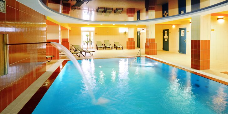 4* relax v Beskydech s polopenzí a neomezeným fitness i wellness