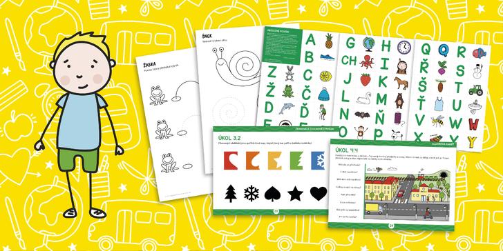 S Jonášem do školy: online kurz pro předškoláky