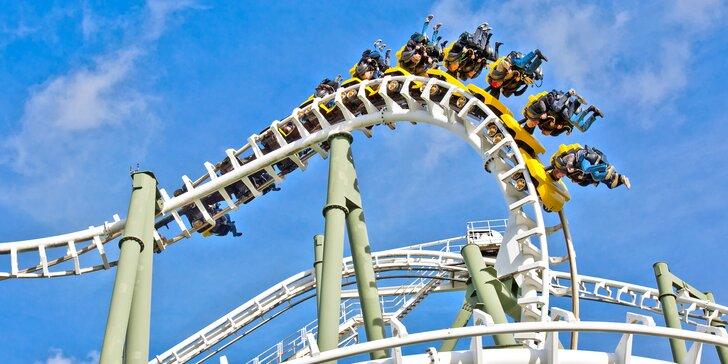 Zábavný den v německém Heide Parku včetně dopravy a vstupů na atrakce