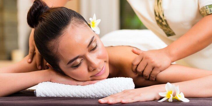 Thajská masáž v jižním stylu v délce až 180 minut v Oáze