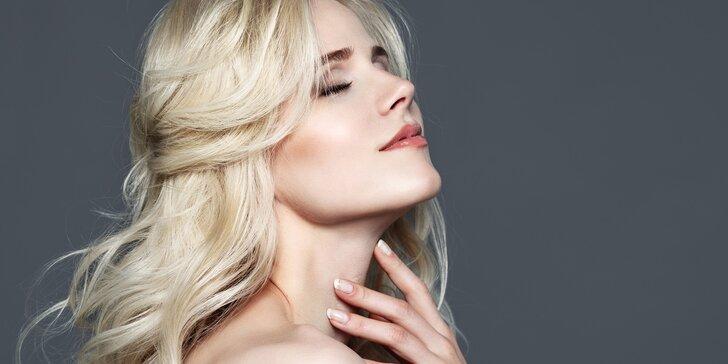 Celkové kosmetické ošetření včetně diamantové mikrodermabraze