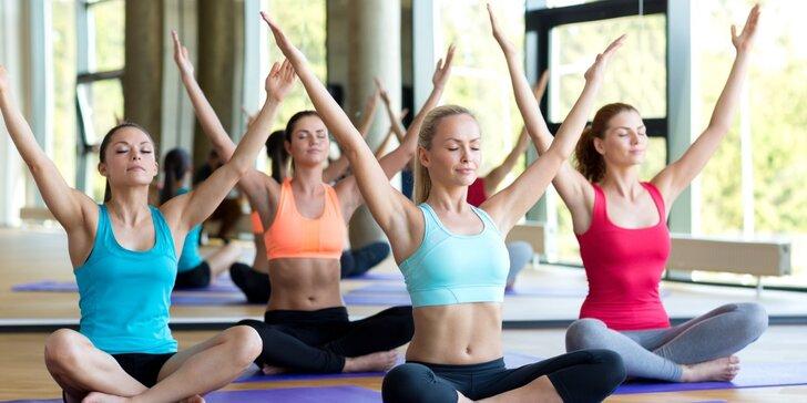 Sobotní kurz jógy pro začátečníky ve studiu Yoga Karlín