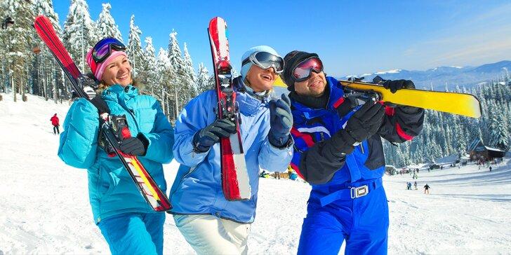 Wellness a lyžovačka v Tatrách: skipas a polopenze nebo all inclusive light