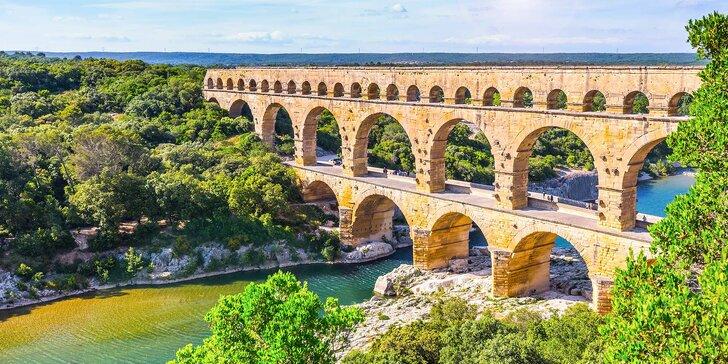 Srpnový zájezd do Provence se 3 noclehy: Cannes, Pont du Gard, Marseille i Arles