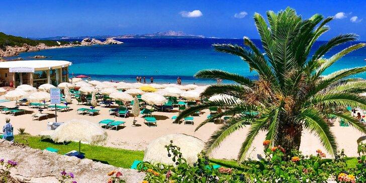 Za krásami Sardinie: zájezd s dopravou, průvodcem a ubytováním v bungalovu