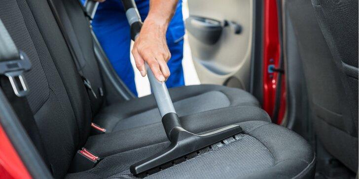 Péče o interiér vozu: 3 programy na výběr, možnost tepování i mytí karoserie