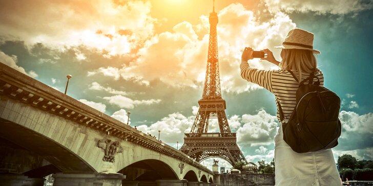 Zájezd do Paříže a Versailles na 5 dnů: doprava autokarem a 2 noci v hotelu