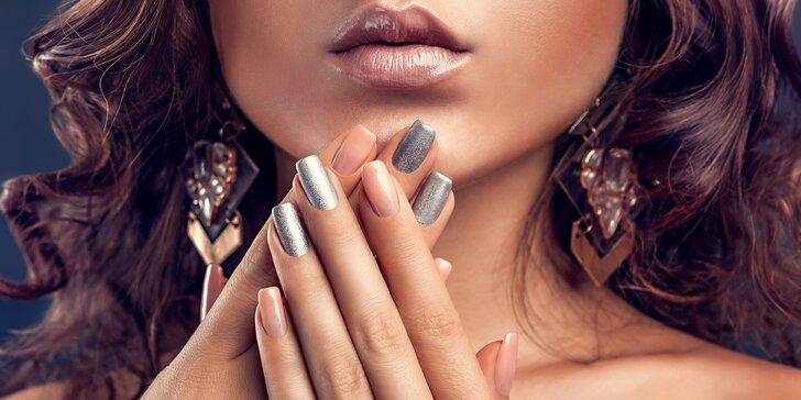 Upravené nehty: Manikúra s gel lakem, Shellacem nebo P-Shine