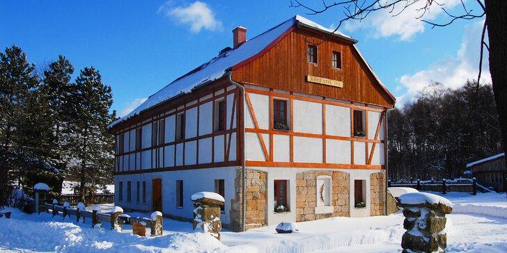 Pobyt jako malovaný: 3 či 4 dny v Českém Švýcarsku s relaxem ve finské kádi