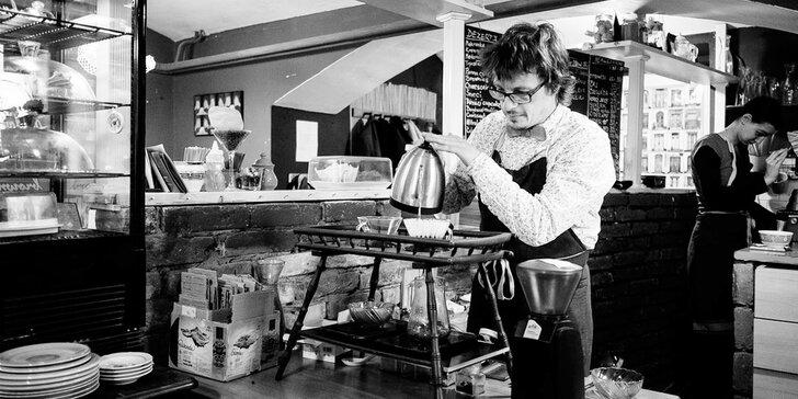 Provoňte si domov skvělou kávou: 2hod. kurz kvalitní přípravy kávy vč. degustace