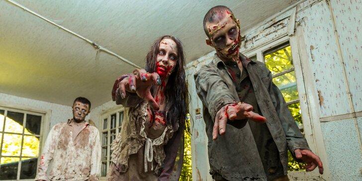 """Zombie apocalypse: vrhněte se do laboratoře a postřílejte """"živé"""" zombie laserem"""
