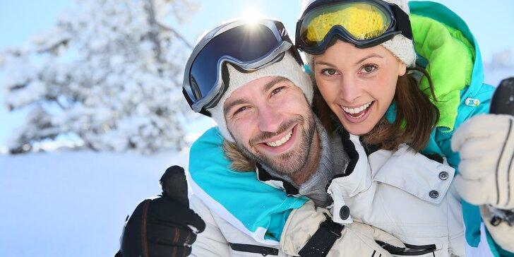 Aktivní pobyt s polopenzí a možností lyžování na Lipně nebo v Rakousku