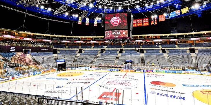 VIP lístky na domácí utkání HC Sparta Praha v O2 areně včetně rautu a dárku