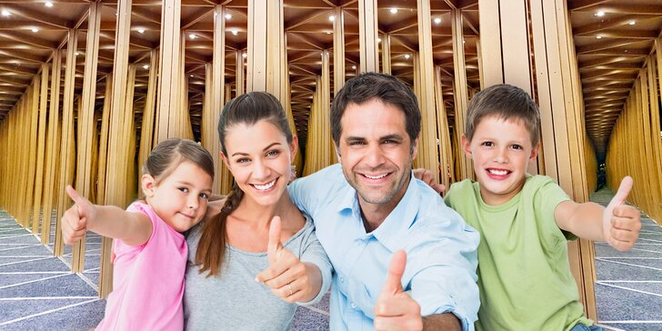 Svět smíchu, kouzel a zázraků: Zrcadlový labyrint je zábavou pro celou rodinu