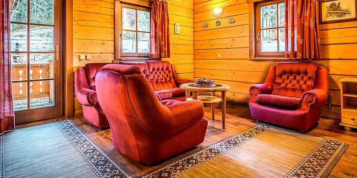 Na víkend do Nízkých Tater: 3-4 dny ve stylovém dřevěném srubu pro 8 osob