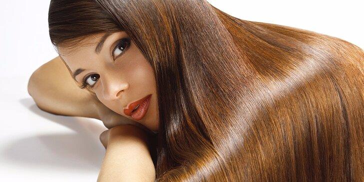 Hýčkání pro vaše vlasy: kadeřnická péče se střihem + dárek zdarma