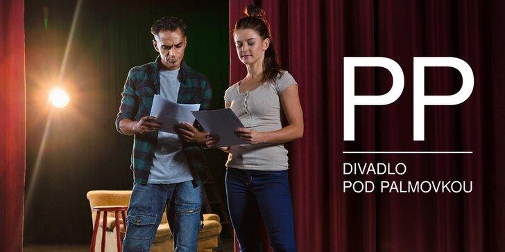 Herecký kurz Divadla pod Palmovkou: 5 měsíců plných hraní a 2 vstupenky k tomu
