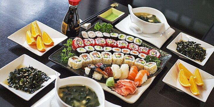 Ochutnejte Japonsko: Luxusní degustační sushi menu ve Slovanském domě