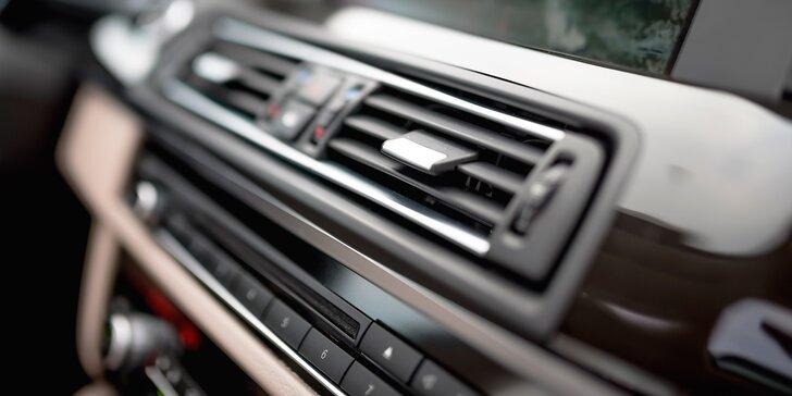 Pohoda na cestách: údržba a plnění klimatizace i vizuální prohlídka vozu