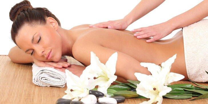 Dopřejte si dokonalou relaxaci - Speciální masáže dle výběru