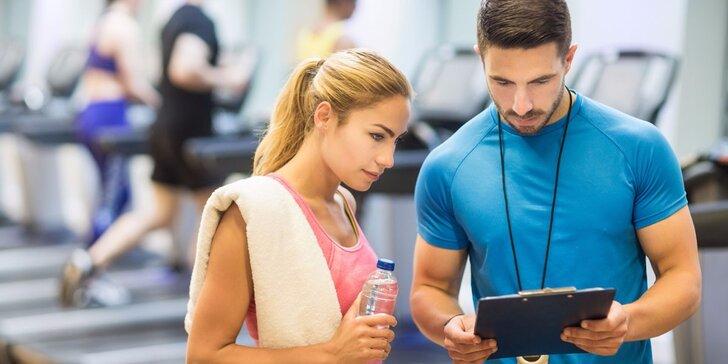 Cvičte pořádně a správně: 1, 5 nebo 12 lekcí s fitness trenérem na Vsetíně
