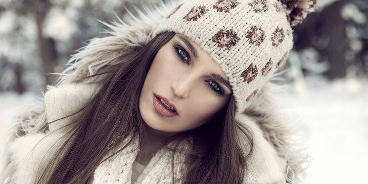 Vyživující zimní kosmetické ošetření včetně manikúry