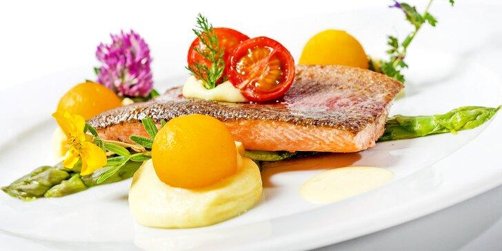 Gurmánské sny skutečností: otevřený voucher do restaurantu Parnas