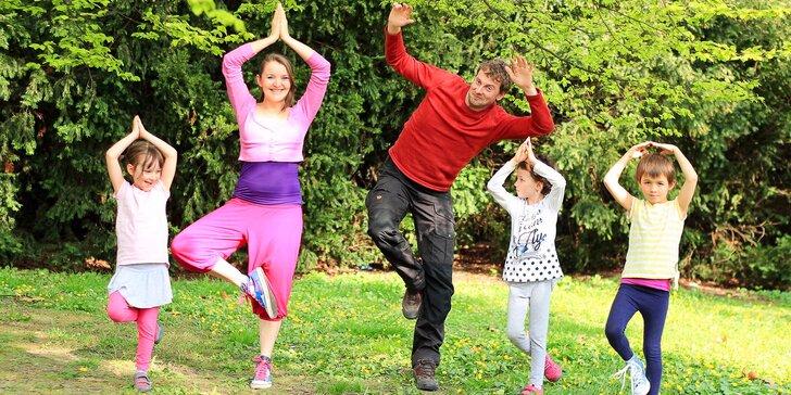 Online kurzy jógy pro děti jakéhokoli věku: 3 nebo 34 videí i s e-bookem