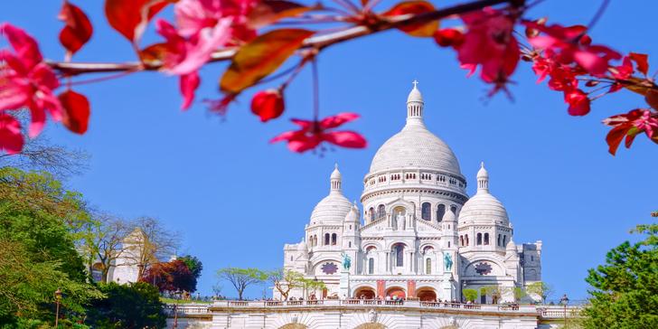 Paříž a sídla panovníků Fontainebleau a Vaux-le-Vicomte: 3x ubytování se snídaní