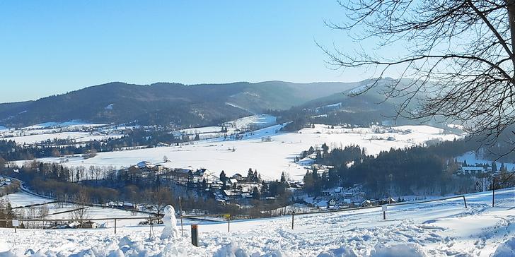 Zimní výprava do Beskyd: 3 nebo 4 dny v Dolní Lomné včetně polopenze
