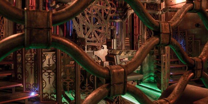 Steampunková únikovka Stroj času: máte hodinu na záchranu světa