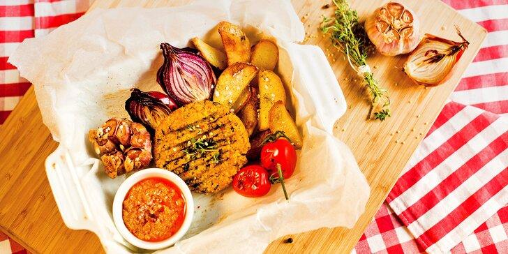 Jídlo, které povznáší: Paleo nebo vegan menu s bezednou polévkou