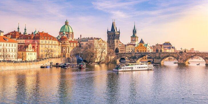 Zimní pražská romance: 3* hotel blízko centra na 1 nebo 2 noci se snídaní
