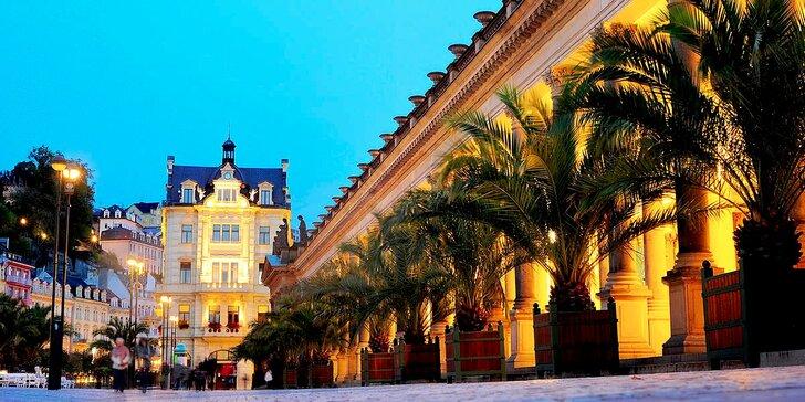 Krásný čas v srdci Karlových Varů: s možností polopenze i vstupu do wellness